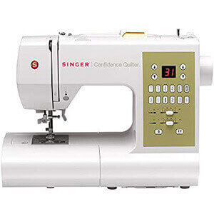 SINGER Confidence Quilter 7469Q Computerized Electronic Sewing Machine